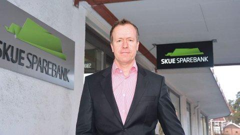 VIKTIG: Hans Kristian Glesne beskriver Eika-gruppen som viktig for Skue Sparebank