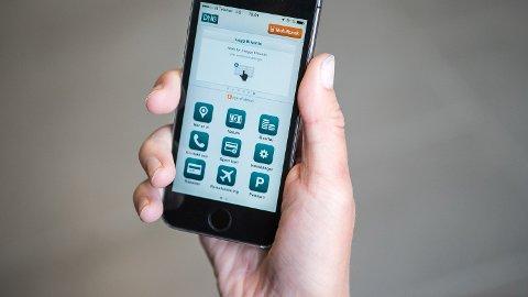 Oslo  20160727 Utføre banktjenester med mobil. Bank på nett. DNB side for logg inn.
