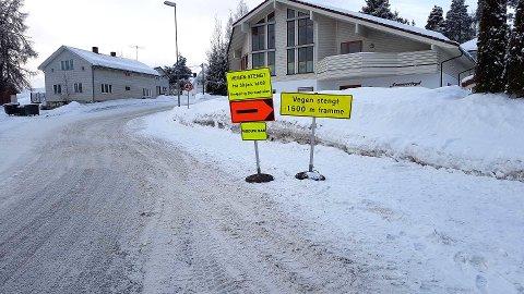 ENKLERE: Med dette skiltet bør det forhåpentligvis bli enklere å finne veien til Modum Bad.