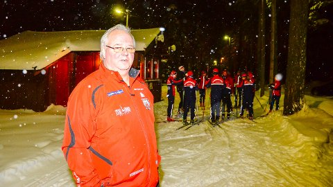 KLAR IGJEN: Nils Røhnebæk og Vikersund IF er klare for nok en sesong med skikarusell og klassekamp.