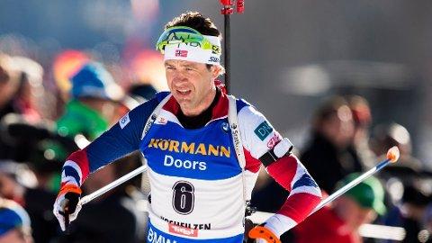 TØFF KAMP: Ole Einar Bjørndalen kjemper hardt for å få OL-plass.
