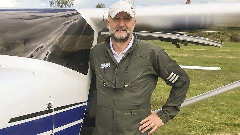 Trygt: Pål Steiran har statistikken i ryggen når han hevder det er trygt å fly.Foto: Privat