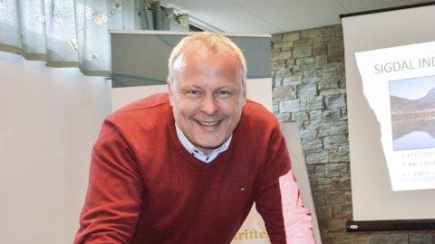SIGDAL: Per Arne Lislien i Sigdal Utvikling
