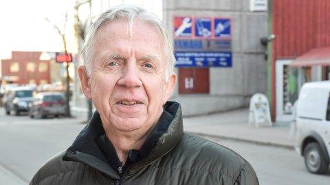 GIR IKKE OPP: Ole Brunes, daglig leder i Modum næringsråd, gir ikke opp kampen om flere togavganger til og fra Vikersund.