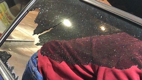 Skyting: Det var kun to av  guttene som skjøt mot bilene på rv. 35 forrige helg.
