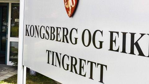 Kongsberg og Eiker tingrett. Tingretten. Domstol. Norges lover.