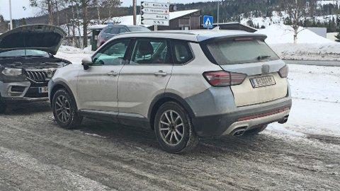 KINABIL: Disse bilene er virkelig ikke noe vanlig syn i Norge, eller Europa for øvrig. Det er nemlig et merke som egentlig er forbeholdt et helt annet marked. Men kanskje er det snart på vei til Europa også