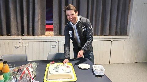 300 GJESTER: Ole Einar Bjørndalen inviterer til en kjempe avslutningsfest for å takke alle som har vært med på karrieren hans.