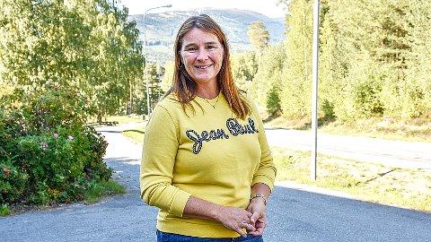 DELER KUNNSKAP: Ellen Anne Bye skal onsdag holde foredrag i Oslo om hvordan de tenker miljøvennlig transport på Norefjell.