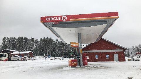Uavklart: Ingen leietakere er så langt på plass i bygget til Circle K i Noresund.
