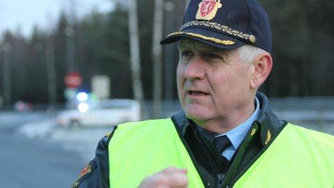 FLERE KONTROLLER: Enda flere ble tatt med for høy fart i 2018, og UP-sjefen varsler enda flere fartskontroller i 2019.