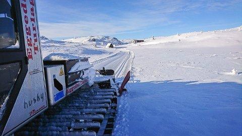 VINTERFERIE: Skiløypene i Eggedal er preparerte og klare til å ta imot vinterferieturistene.