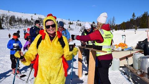 PÅSKEFØRE: Slik så det ut under Holmvassløpet i fjor. Arrangørene har god tro på at den 44. utgaven skal gå som planlagt.