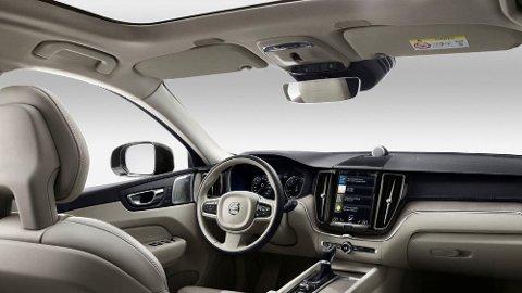 VIKTIG: Volvo mener overvåking av føreren vil bli svært viktig for å unngå ulykker. Innføringen av kameraer i Volvos biler vil starte i løpet av noen år.