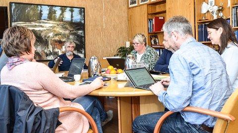 HØRING: Ordfører Gustav Kalager, klubber her at forslaget til kommunedelplan for Norefjell skal sendes ut på høring.