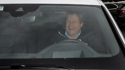 FLAKS: - Jeg kjørte for fort og skrev også under på det, så det er kun flaks som gjør at jeg får igjen fartsboten jeg har betalt, smiler Grønberg.