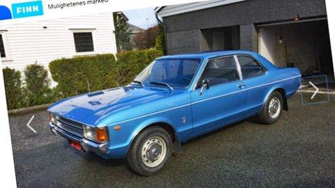 Første eier som kjøpte denne i 1974 syntes den var for fin til å brukes, så han fortsatte å kjøre sin gamle bil.
