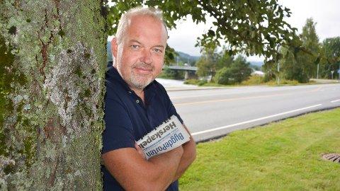 Knut Bråthen ansvarlig redaktør og daglig leder i Bygdeposten.
