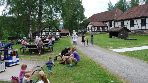 BEST KJENT: Blaafarveværket er navnet som flest forbinder med Modum i en uhøytidelig spørreundersøkelse Bygdeposten gjennomførte i Drammen.
