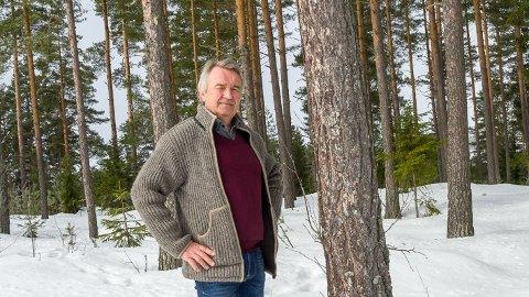 VIKERØYA: Gotfred Rygh (SV) begrunner hvorfor omfanget av utbygging på Vikerøya er redusert.