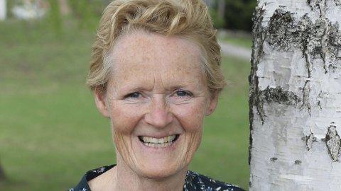 Skjult talent: Sunni Grøndahl Aamodt var en gang god med motorsag, og tevlet med felling, kvisting, kapping og sverdsnuing med kjedebytte. Arkivfoto