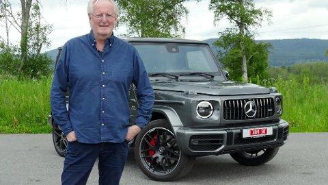 Eyvind Hellstrøm er klar på at det aldri kommer til å stå en elbil i hans garasje. Kanskje har det noe med bilen han kjører i dag å gjøre...