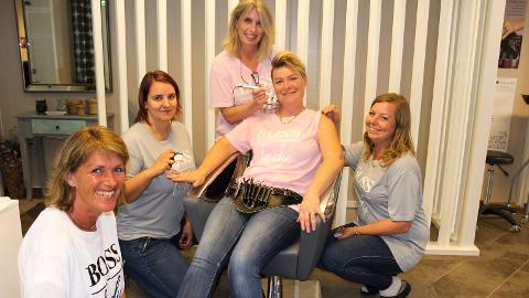 FEM GRÜNDERE: Karin Solumsmoen (f.v.), Tine-Karine Helgestad Smeland, Christin Løken, Stine Velven Hagen og  Cesilie Sandvold.
