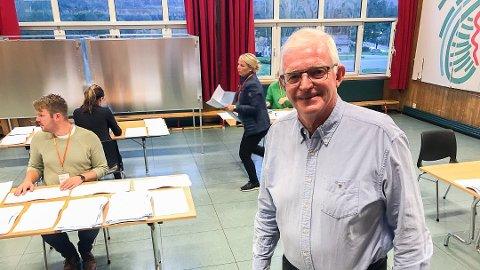 SIKKER PLASS: Knut Martin Glesne er sikret plass, i likhet med Bygdelistas to andre kumulerte kandidater.