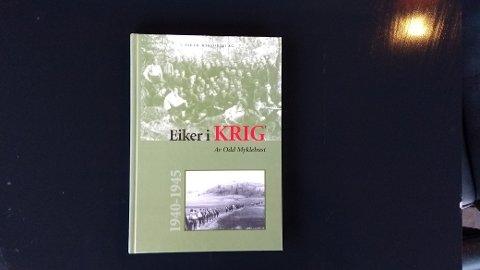 NY VERSJON: Eiker Historielag utgir Eiker i krig på nytt - med en del nytt stoff.