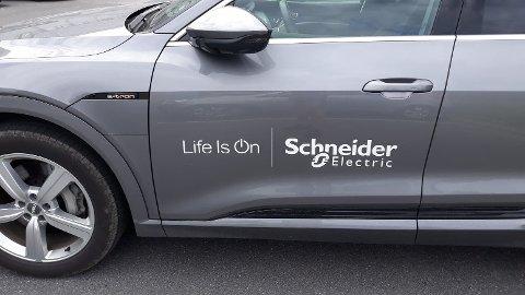 STORKONSERN: Schneider er et gigantisk multinasjonalt konsern, hvor det norske Oljefondet er fjerde største eier.