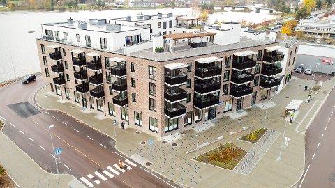 BRANNSIKKERHET: Modum kommune skal torsdag holde et møte for å vurdere hva Statsforvalterens oppheving av vedtak i forhold til brannsikkerhet i Fjordbyen Atrium faktisk vil føre til i praksis.
