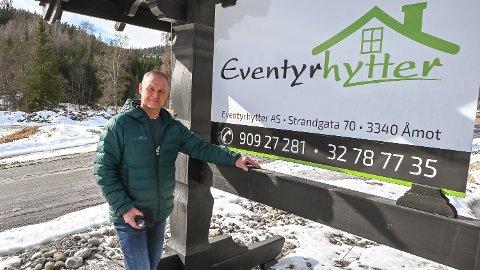 ET NYTT EVENTYR: Pål W. Krogstad og Eventyrhytter skal bygge hytter for flere millioner kroner på det nye området Storefjellstølen de neste årene.