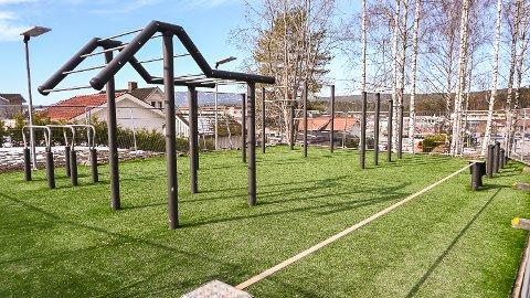NÆR ÅPNING: Parken er allerede klar til bruk. Hvis alt går som ønskelig blir det offisiell åpning 29. mai.