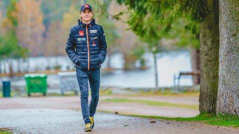 TILBAKE: Skihopper Daniel Andre Tande har tatt sine første hopp etter det grusomme fallet i Planica.