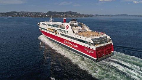 TRAFF BETONGEN: Koronaviruset rammet Fjord Line hardt.