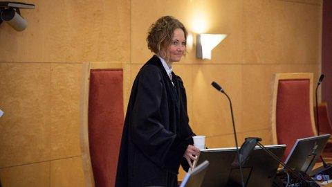 DOMMAR: Liv Shelby har jobba som advokat i både det private og det offentlege. Men det er i domstolen ho trivst best.