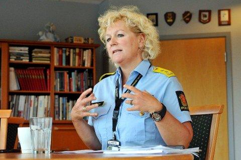 Christine Fossen, politimester i Vestfold politidistrikt.