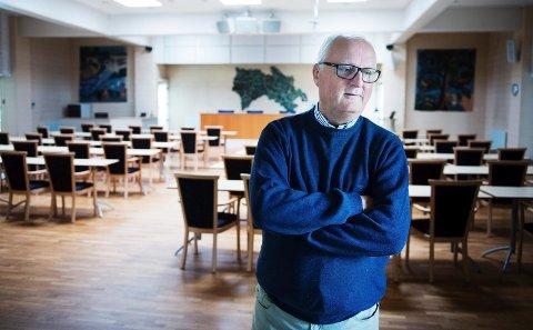 GAVMILD: Fylkesordfører Morten Eriksrød og politikerkollegene i fylkestinget har bevilget penger til Blindeforbundets prosjekt som skal utrydde unødvendig blindhet i fattige land.