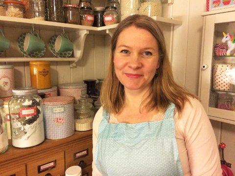 Kristin Granli fra Drammen er levende opptatt av mat, og står bak matbloggen kristinkoker.com.