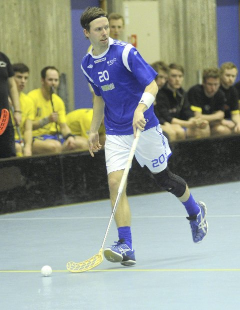 Toppscorer: Steffen Løvlund scoret tre mål mot Bækkelaget og ble matchvinner med sin avgjørende scoring i sluttminuttene.
