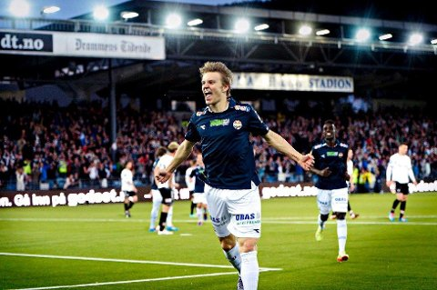 HEADED TO MADRID: Martin Ødegaard is about to become a Real Madrid player. This is how he will be remembered as a Strømsgodset player. FOTO: LISA SELIN