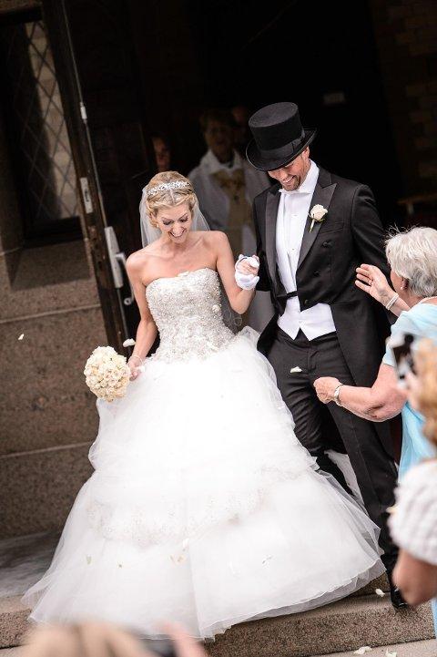 Sommeren 2014 giftet Marianne seg med Espen og ble ekteparet Gjerstad Hørven.