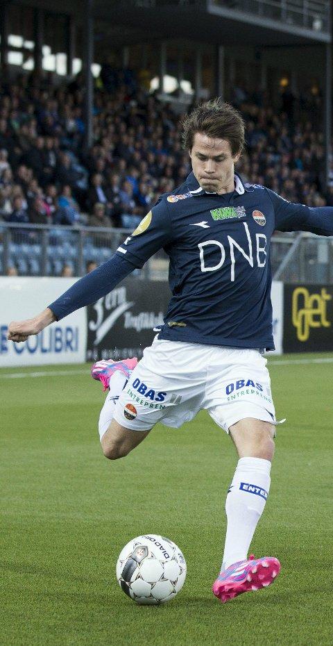 KAN FORSVINNE: Lars-Christopher Vilsvik har avslått et kontraktsforslag fra Godset.FOTO: NTB/SCANPIX