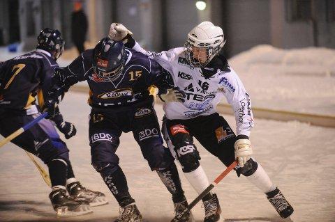 Eirik Lunden scoret 1-0-målet for Solberg SK. Her fra en kamp i fjor.