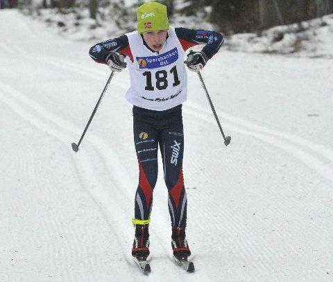 Dobbeltseier: Per Ingvar Tollehaug fra  Vestfossen/Eiker Ski vant både lørdag og søndag.