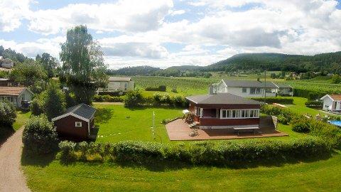 HØY KVADRATMETERPRIS: 58.300 kroner per kvadratmeter må du punge ut for denne hytta.