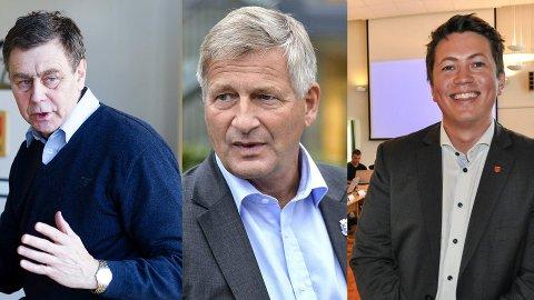 SKREV BREV: Disse tre ordførerne vil ha Lier inn i «Nye Drammen»