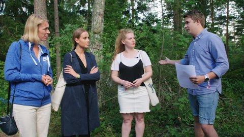 KRITISERTE H&M: Bloggeren Anniken Jørgensen fikk støtte på AUFs sommerleir på Utøya da hun kritiserte kleskjeden H&M.
