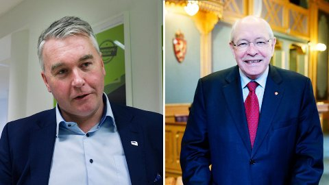 DØDT LØP: Høyre og Arbeiderpartiet får tilnærmet lik oppslutning i Respons Analyses septembermåling.