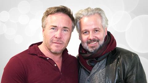 Michael Andreassen og Ari Behn får eget radioprogram på P4.